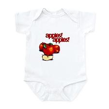 """Apples! Apples!"" Infant Bodysuit"