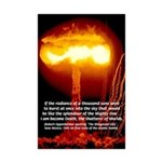 Nuclear Bomb: Oppenheimer Quote Bhagavad Gita