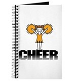 Gold Cheerleading Journal
