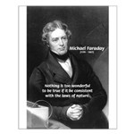 Scientist Michael Faraday: Truth of Nature