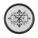 New Logo Large Wall Clock