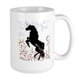 Unique Black forest horse Mug