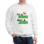 """Wiseass, Not Jackass"" Sweatshirt"