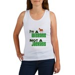 """Wiseass, Not Jackass"" Women's Tank Top"