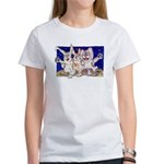 Full Moon Rabbits Women's T-Shirt