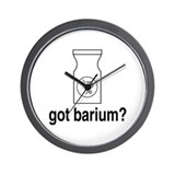 Got Barium? Wall Clock