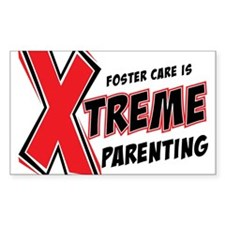 Xtreme Parenting Rectangle Decal