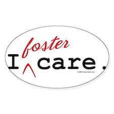 I Foster Care Oval Bumper Stickers