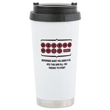 Remember the Code - Light Ceramic Travel Mug