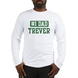 Number 1 Dad - Trever Long Sleeve T-Shirt