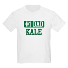 Number 1 Dad - Kale T-Shirt