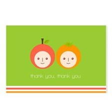 Apple and Orange Postcards (Package of 8)