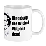 Thatcher - Ding dong the Wick Coffee Mug
