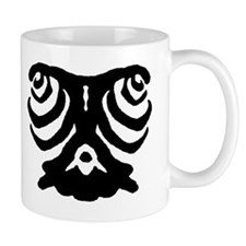 "Ink Blot ""Lonely Eyes"" Mug"