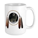 Coyote Spirit Ceramic Mugs