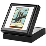 Travel New York Keepsake Box