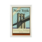 Travel New York Rectangle Magnet (10 pack)