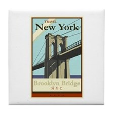Travel New York Tile Coaster