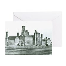 Castle South 1858 Greeting Card