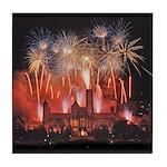 Fireworks Tile Coaster
