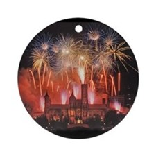 Fireworks Ornament (Round)