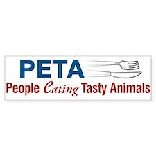 PETA Bumper Bumper Sticker