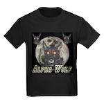 Alpah Wolf Kids Dark T-Shirt