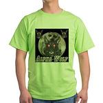 Alpah Wolf Green T-Shirt
