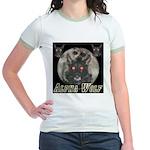 Alpah Wolf Jr. Ringer T-Shirt