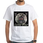 Alpah Wolf White T-Shirt