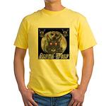 Alpah Wolf Yellow T-Shirt