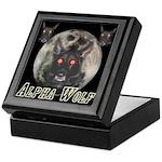 Alpah Wolf Keepsake Box