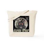 Alpah Wolf Tote Bag