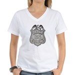 Panama Policia Women's V-Neck T-Shirt