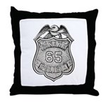 Panama Policia Throw Pillow