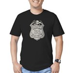 Panama Policia Men's Fitted T-Shirt (dark)