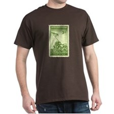 Iwo Jima 3 Cent Stamp T-Shirt