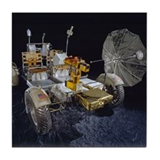 Lunar Roving Vehicle Tile Coaster