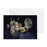 Lunar Roving Vehicle Greeting Card
