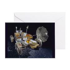 Lunar Roving Vehicle Greeting Card