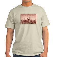 Smithsonian 3 Cent Stamp Light T-Shirt