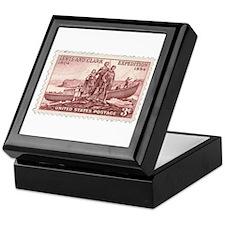 Lewis & Clark 3 Cent Stamp Keepsake Box