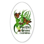 Pacific Grove Monarchs Oval Sticker
