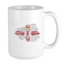 Cute Northern ireland flag Mug