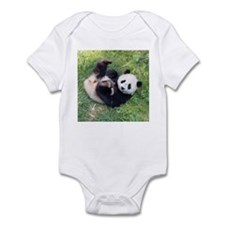 Giant Panda Infant Bodysuit