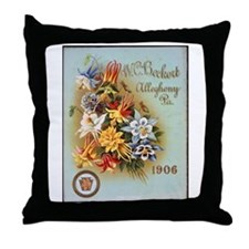 W.C. Beckert Throw Pillow