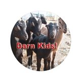 "Darn Kids 3.5"" Button"