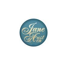 Jane Austen Mini Button