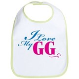 Love Grandmother Bib