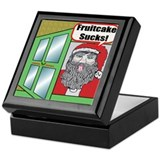 Christmas Fruitcake Keepsake Box